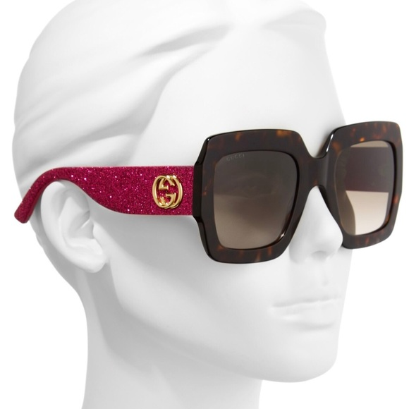 954de640d2 Gucci 54mm Square Sunglasses